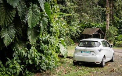 Louer une voiture hybride ou électrique en Guadeloupe