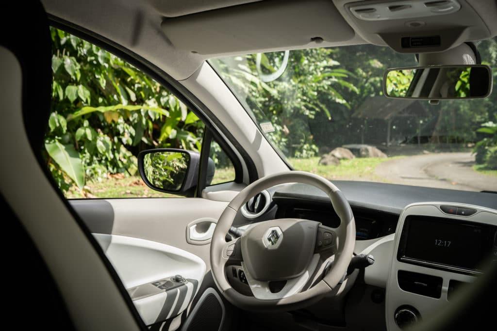 Renault Zoe électrique en Guadeloupe