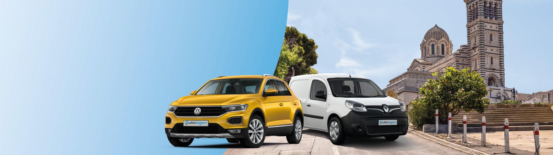 Réservez votre voiture de location au meilleur prix à Marseille Provence
