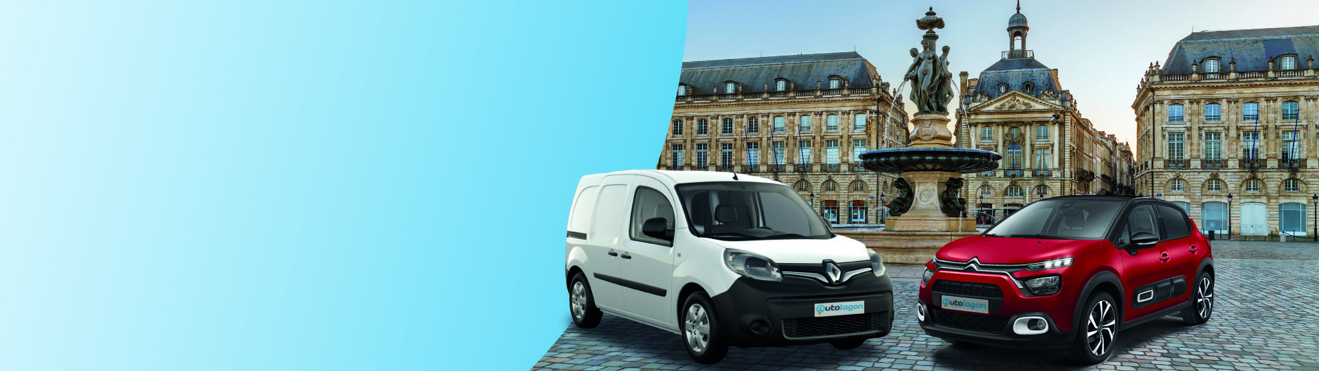 Book your car at the best price in Bordeaux