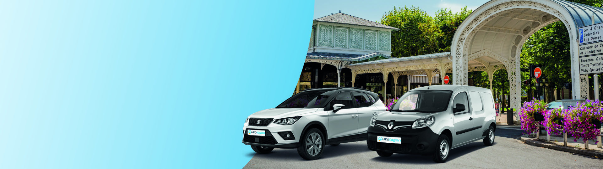 Book your car at the best price in Vichy train station