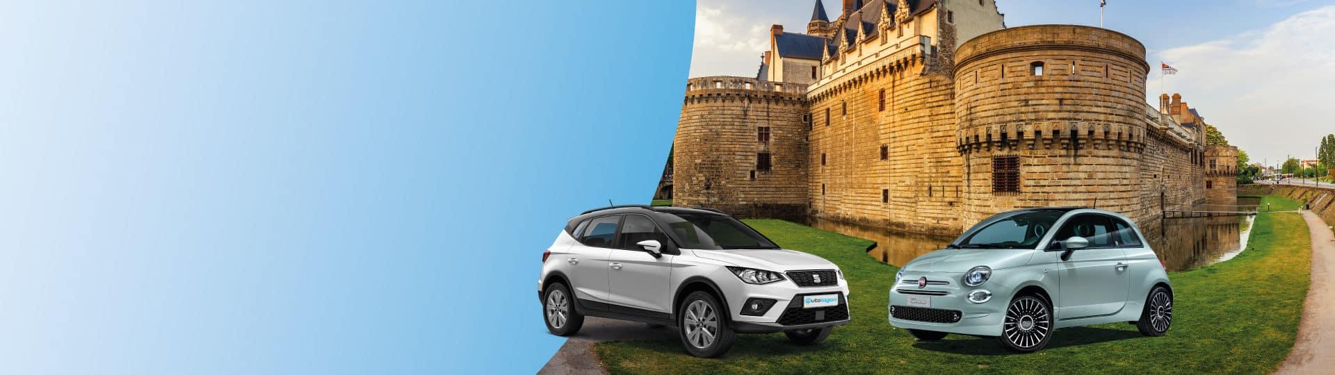 Réservez votre voiture de location au meilleur prix à Nantes