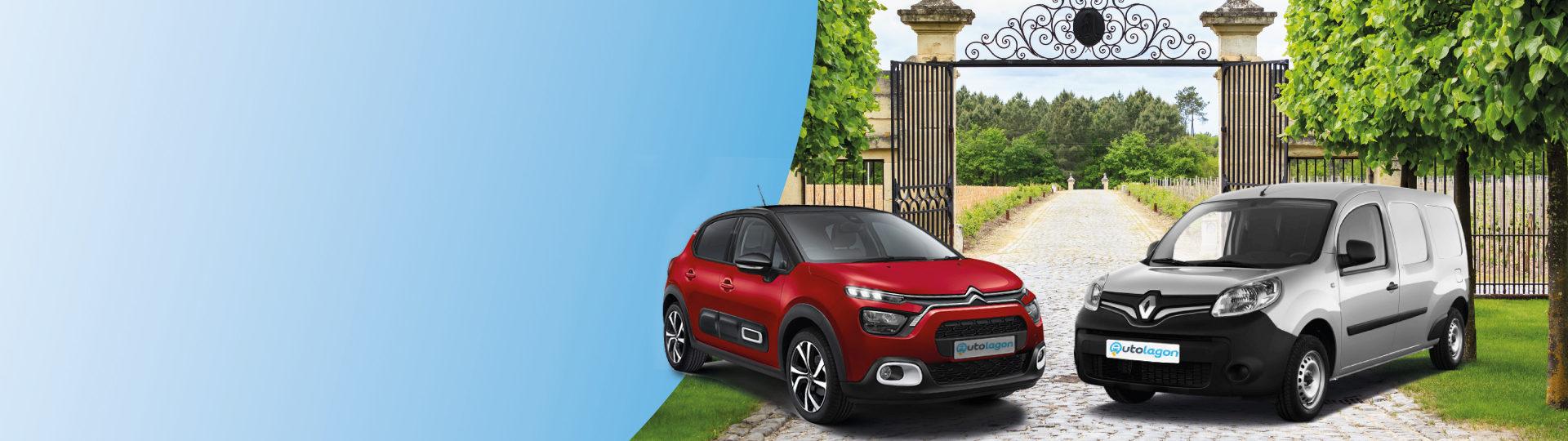 Réservez votre voiture de location au meilleur prix à Bordeaux - St Jean d'Illac